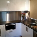 Domestic Stainless steel splahbacks