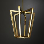 custom brass light pendant 2